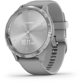Garmin Vivomove 3 Montre connectée, grey/silver
